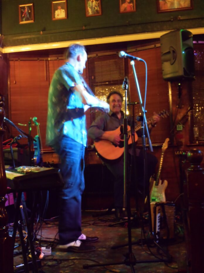 Charlie Hart And Steve Simpson: The Cavern, Raynes Park - live review