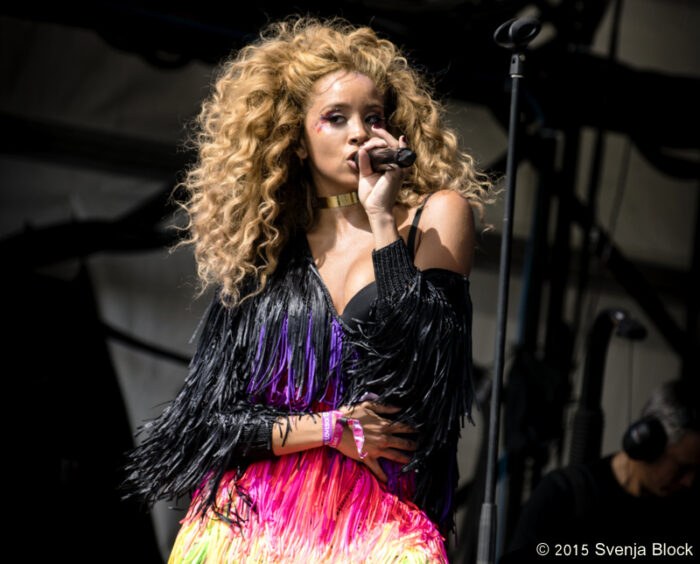 Lion Babe @ Lovebox - please use as header - main photo abovw the review