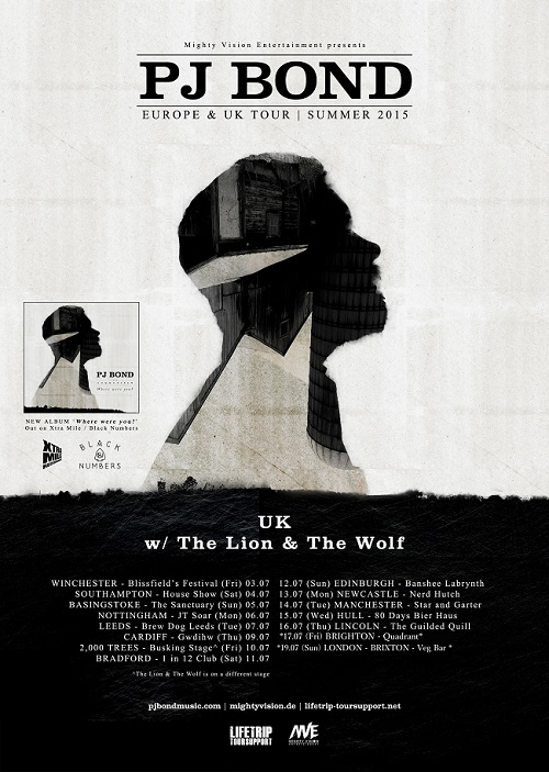 The Lion and the Wolf Tour Poster