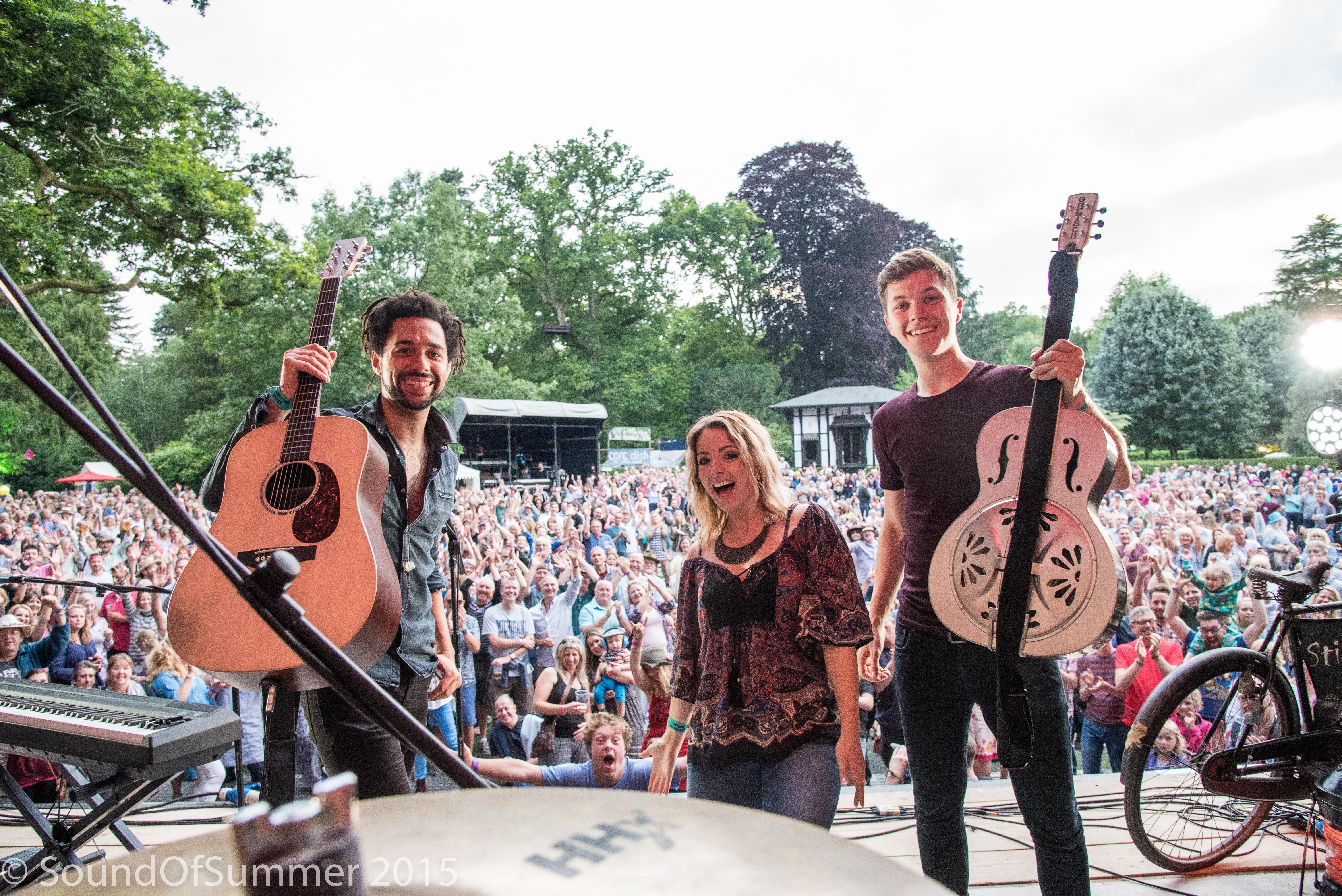 The Shires Almost Missed Their Glastonbury Headline Slot