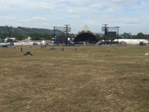 glasto 2015  later  pyramid by steve Riggs