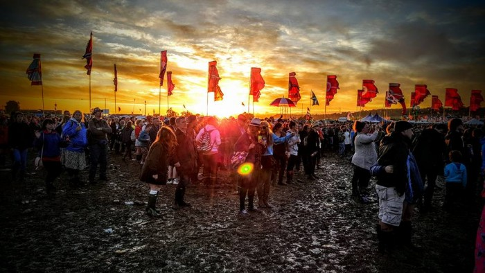 other stage glastonbury by CHRIS SAVVAS