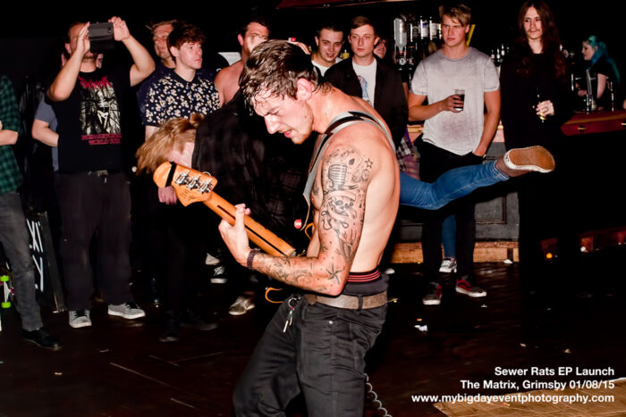 Sewer Rats EP Launch: The Matrix, Grimsby - 01/08/15