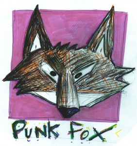 punk fox logo