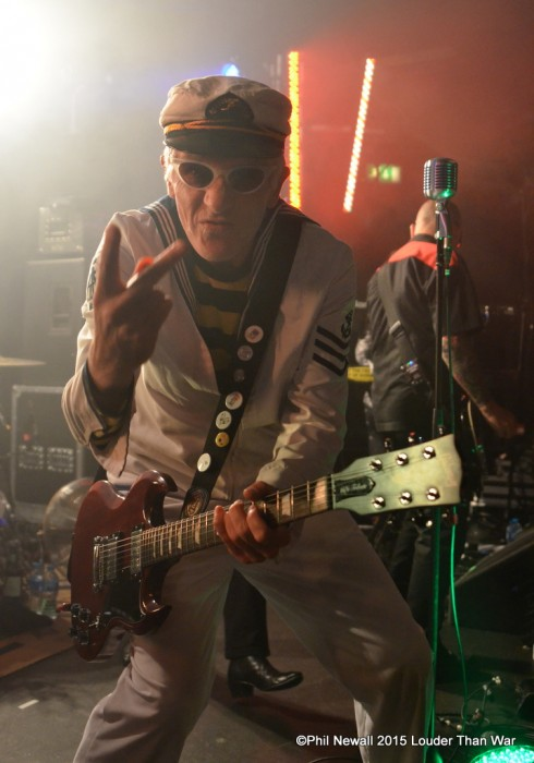 Capt Sensible The Damned Chester Sept 2015