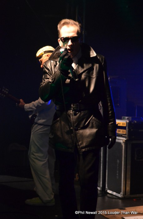 Dave Vanian THe Damned Chester 17th Sept 2015