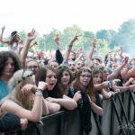 Mosh pit at Bingley Music Live 2015