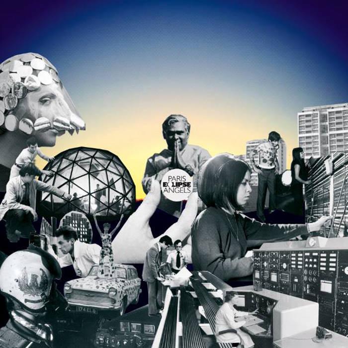 Paris Angels release long lost 2nd album - cover art
