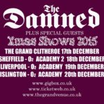 Damned Xmas 15 tour