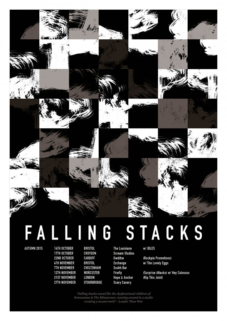 Falling Stacks Autumn Shows 2015 Poster