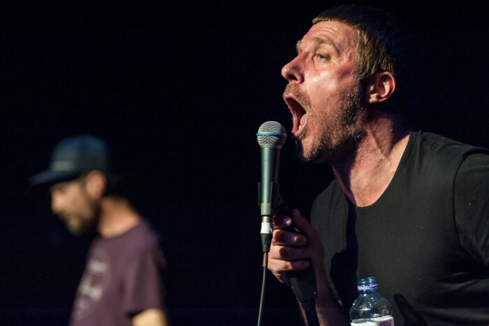 Sleaford Mods live at the Junction in Cambridge on the 8 Oct 2015