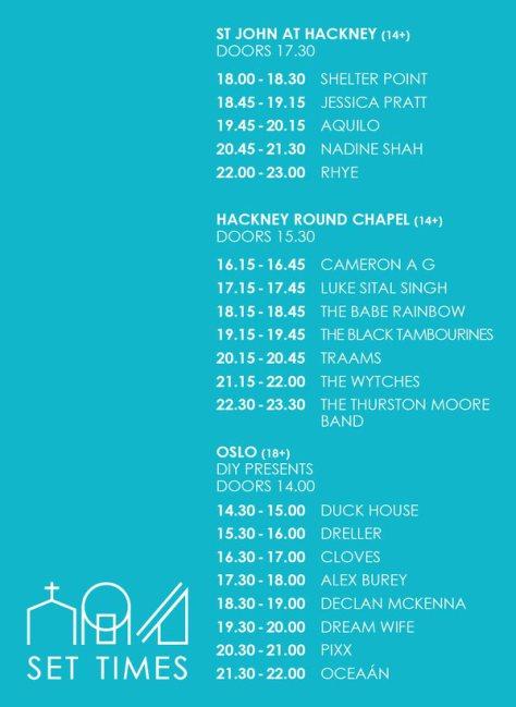 mirrors schedule 2015