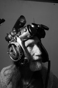 Arthur Brown and Psychosonic helmet