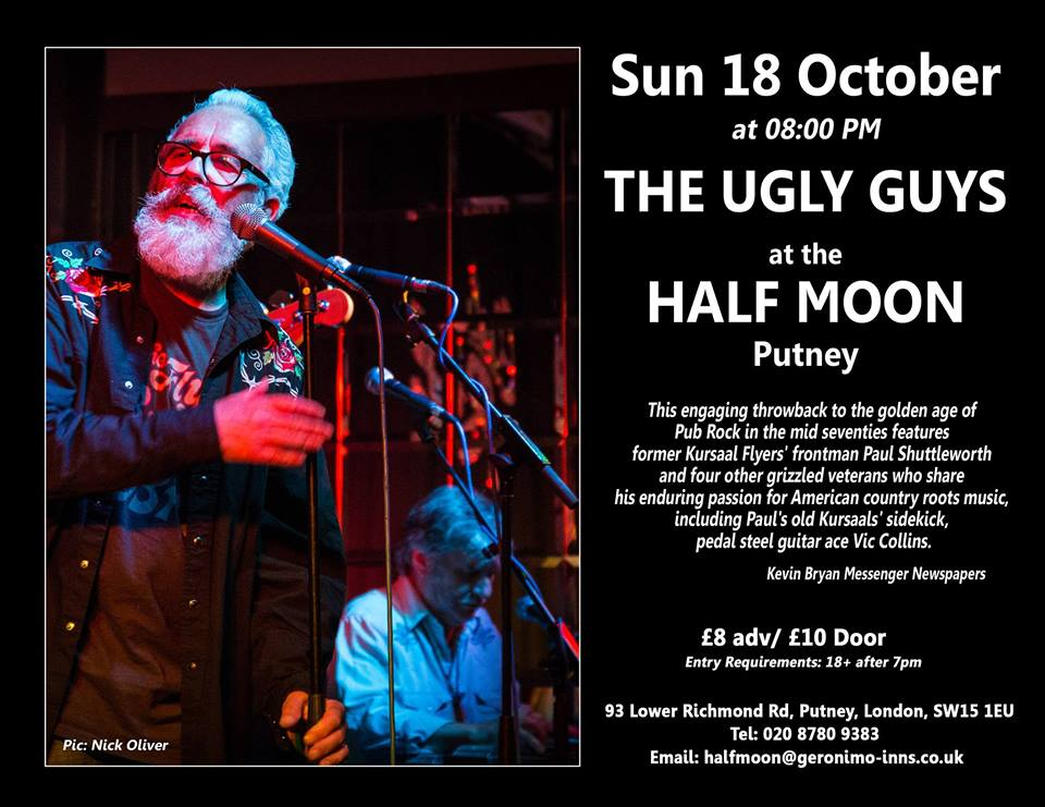 The Ugly Guys: The Half Moon, Putney - live review ...