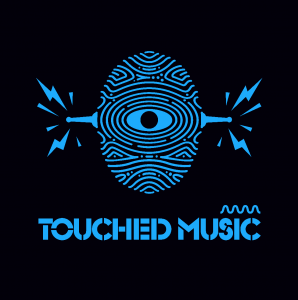 Black and Blue Touched logo