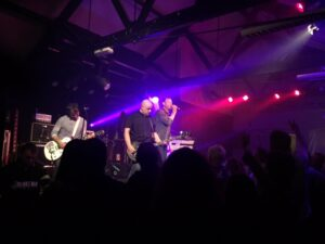 Inspiral Carpets on stage in Derby