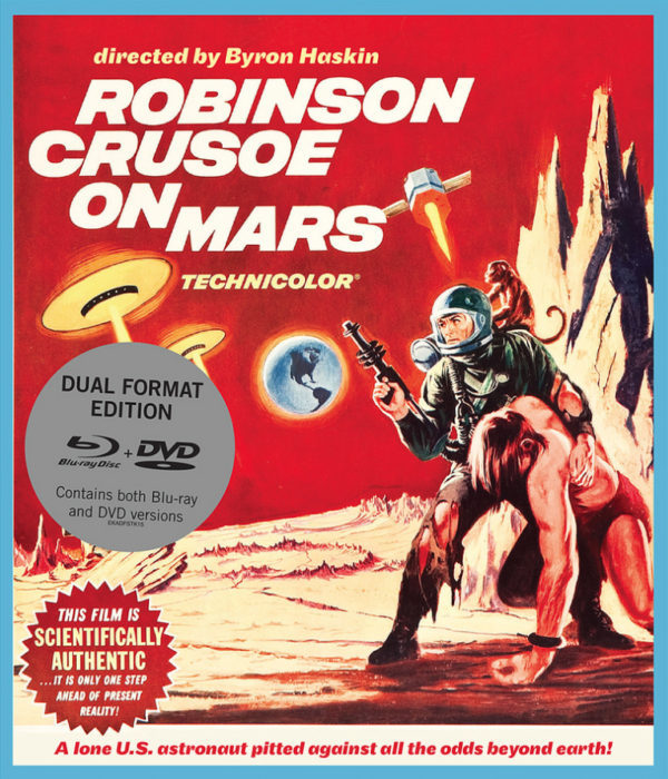 Robinson Crusoe On Mars Cover