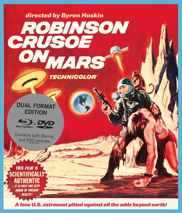 Robinson Crusoe On Mars Cover