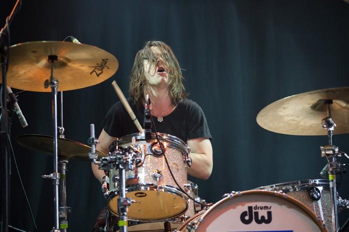 Yak Drummer by Melanie Smith
