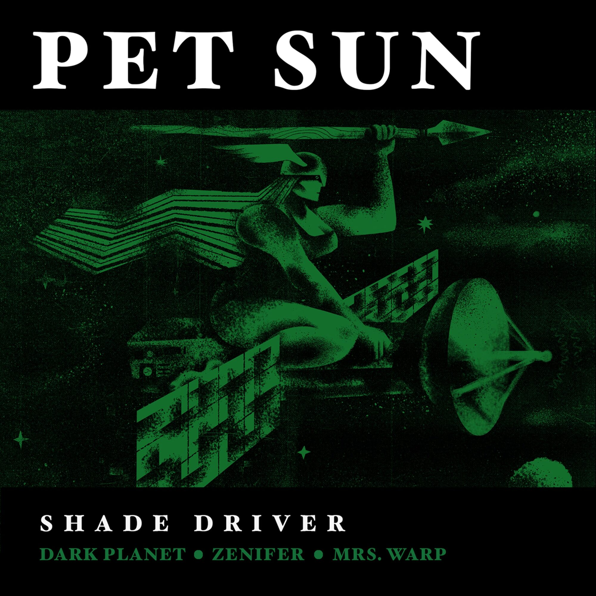 Pet Sun Shade Driver Cover