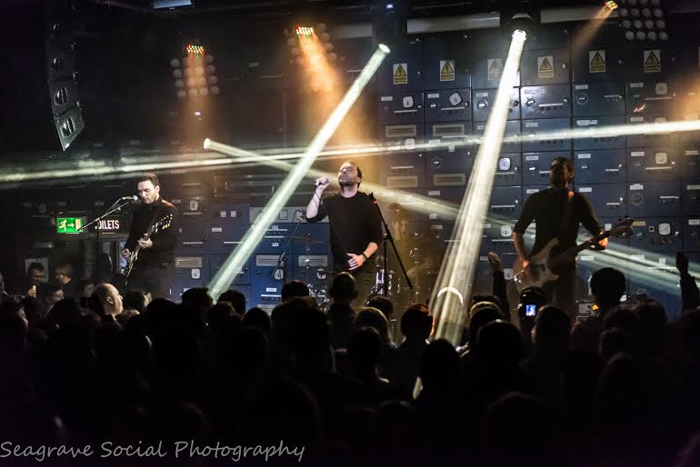The Slow Readers Club performing at Gorilla in Manchester. (Credit to Billy Seagrave)