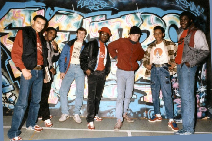 Cred@Martin Jones Supreme Graffiti Team with Chrome Angelz Spring 1985