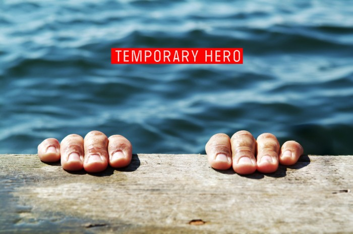 Temporary Hero - Promo Pic 3 (Hands on Deck)