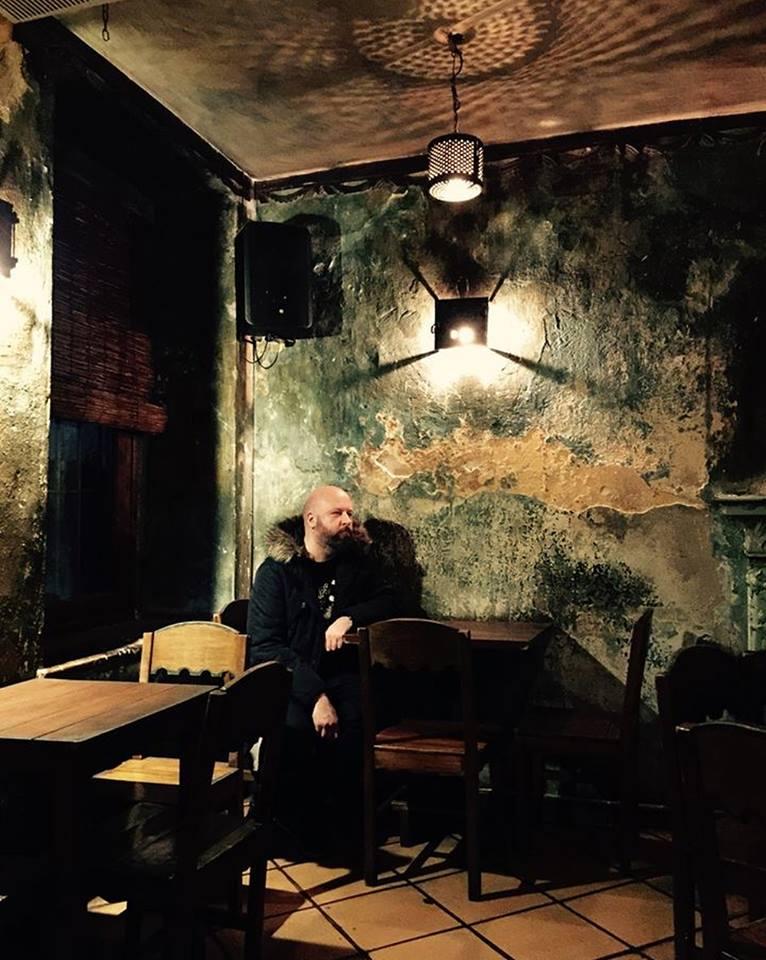 Mark Corrin, taken by Ayça in Karga bar