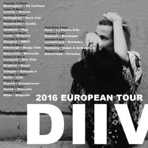 DIIV Tour
