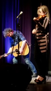Ian Prowse and Laura McKinlay