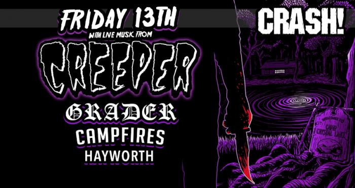 Creeper Aberdeen Friday 13th