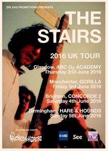 The Stairs – Liverpool's great lost Psych band return for 2016 tour