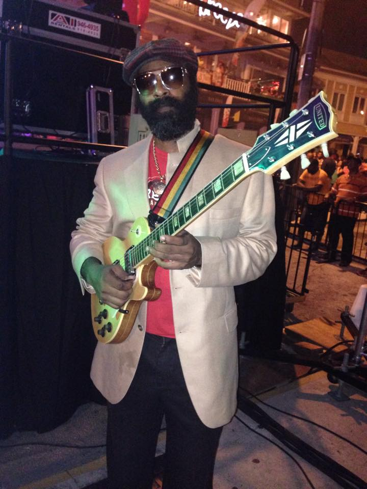 Jamaica/Cayman Islands reggae performer Stuart Wilson