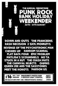 Antipop Aug Weekender