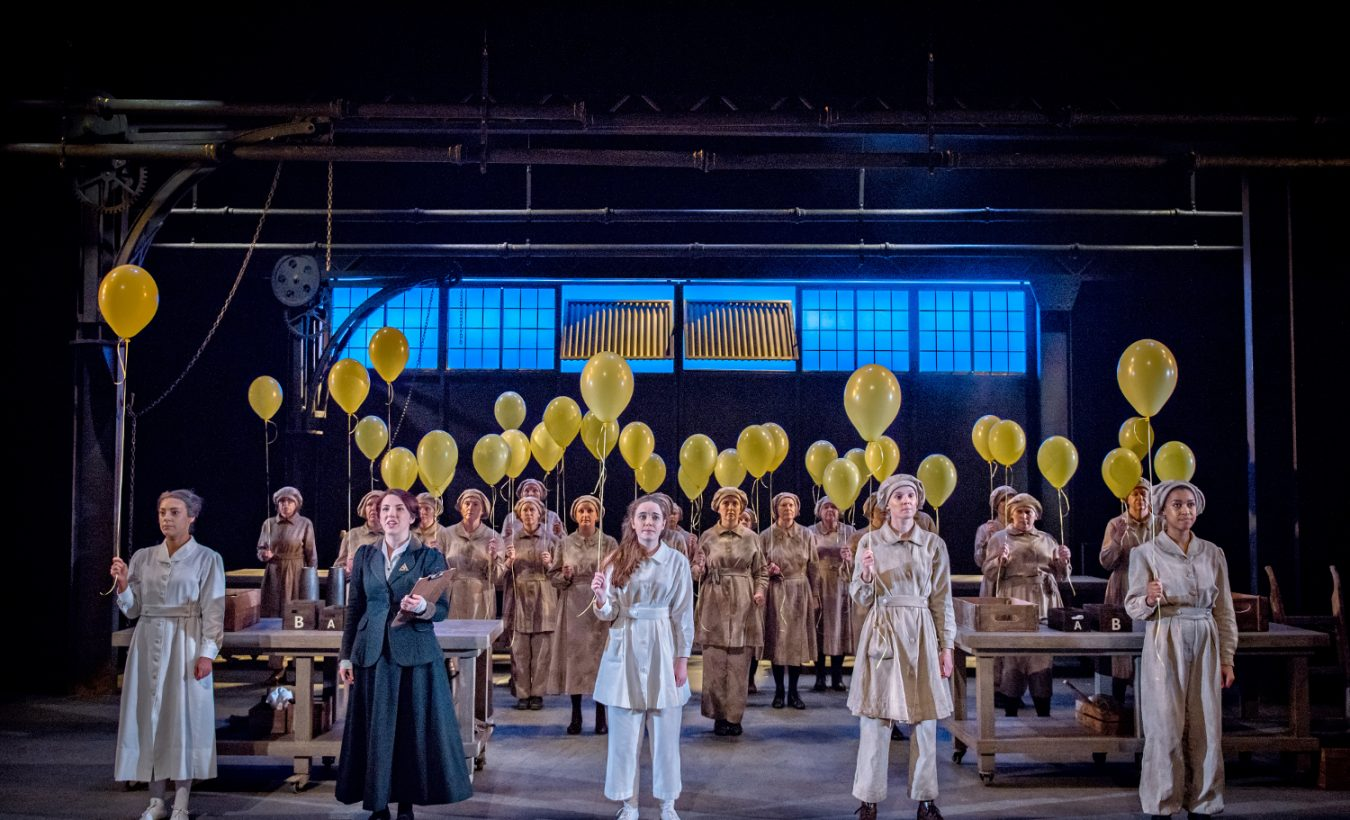 Barnbow Canaries: West Yorkshire Playhouse – theatre review