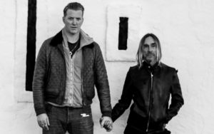 Joshua Homme, left, and Iggy Pop (Andreas Neumann)