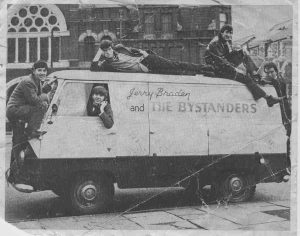 The Bystanders - who would eventually merge into Man. Picture courtesy of Old Merthyr Tydfil.