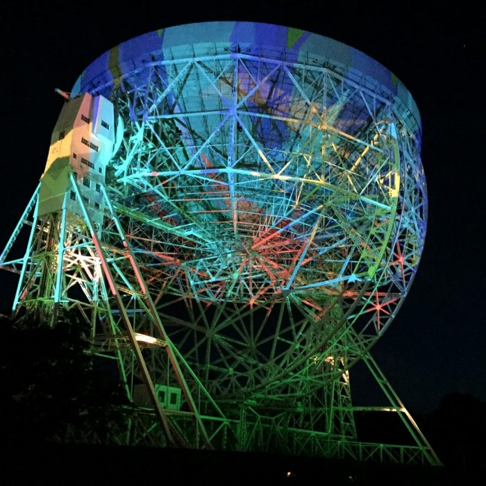 Brian Eno Telescope Installation at bluedot Festival, Jodrell Bank Discovery Centre By Louise Caine 2