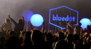 Crowd at bluedot Festival, Jodrell Bank Discovery Centre By Fran Arthurs