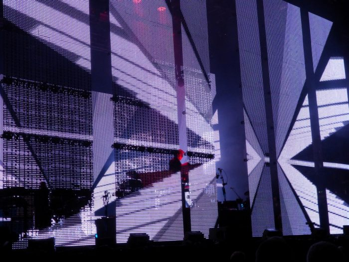 Jean-Michel Jarre performing at bluedot Festival, Jodrell Bank Discovery Centre By Big Clive 3