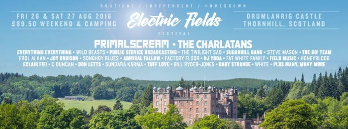 Electric Fields line up