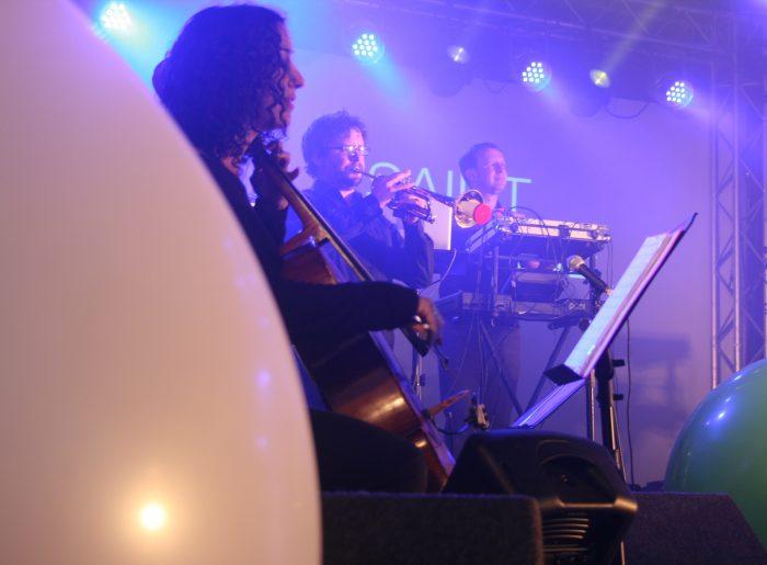 Saint Etienne on stage at Indietracks 2016
