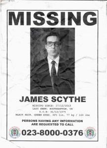 Where is James Scythe