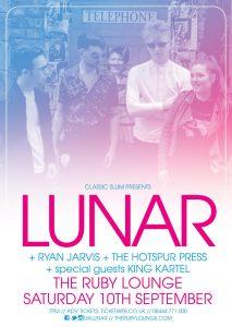 Lunar Ruby Lounge Manchester
