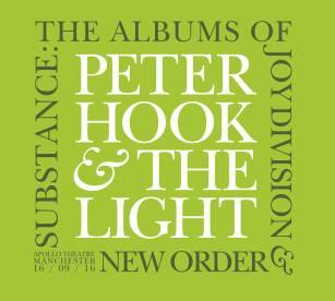 Peter Hook & The Light Perform Substance - The Albums Of Joy Division & New Order Live At The Apollo Theatre Manchester 16/9/16