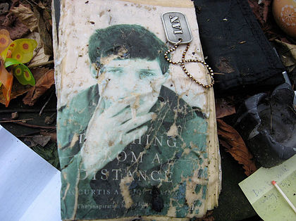 Ian Curtis grave by Jennifer Otter Bickerdike
