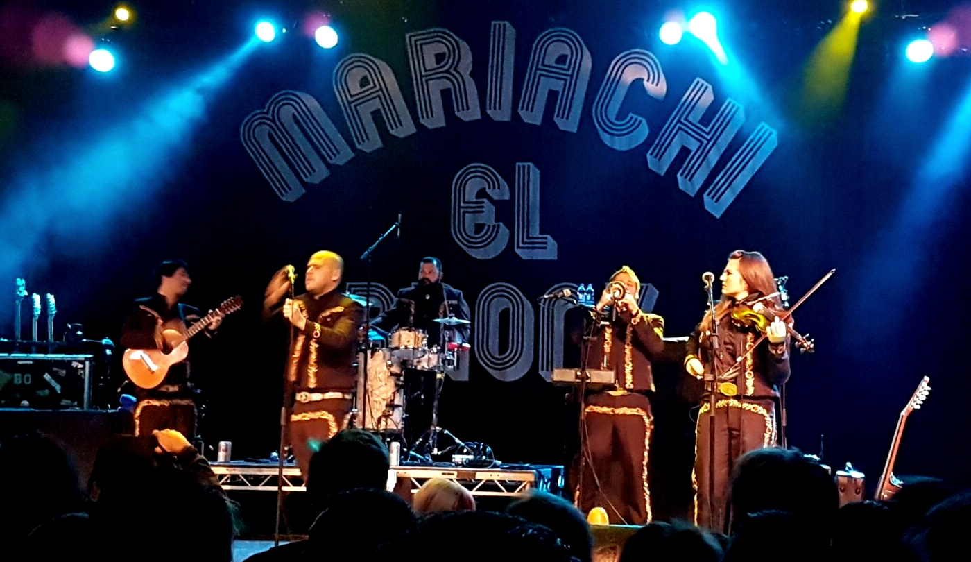 Mariachi El Bronx in Birmingham