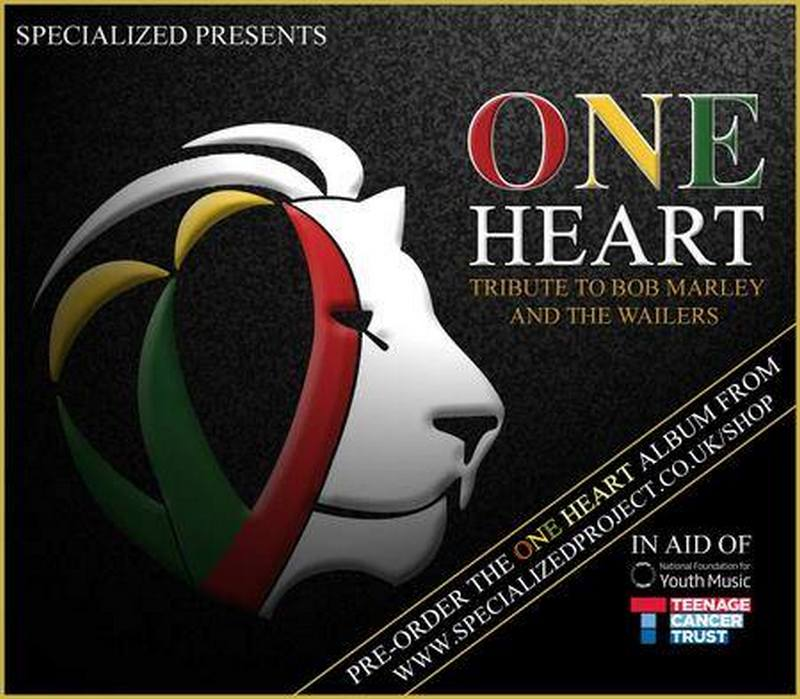 One Heart: 4 CD tribute to Bob Marley -Specialized 5 in aid of Teenage Cancer Trust