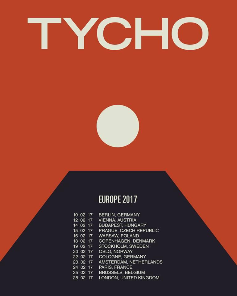 California 39 s tycho announces uk eu tour dates following for Soil uk tour 2016