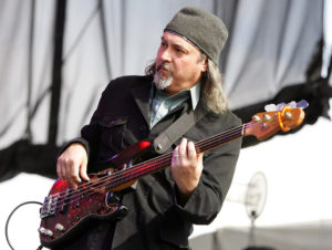 LAS VEGAS - OCTOBER 28:  Bill Laswell performs with the band Praxis at the Vegoose music festival at Sam Boyd Stadium's Star Nursery Field October 28, 2006 in Las Vegas, Nevada.  (Photo by Ethan Miller/Getty Images)
